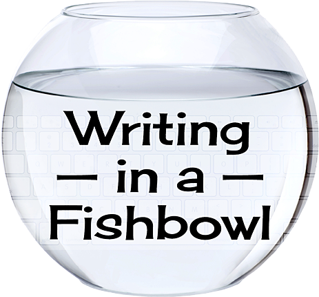 Nifty logo of words in a fishbowl