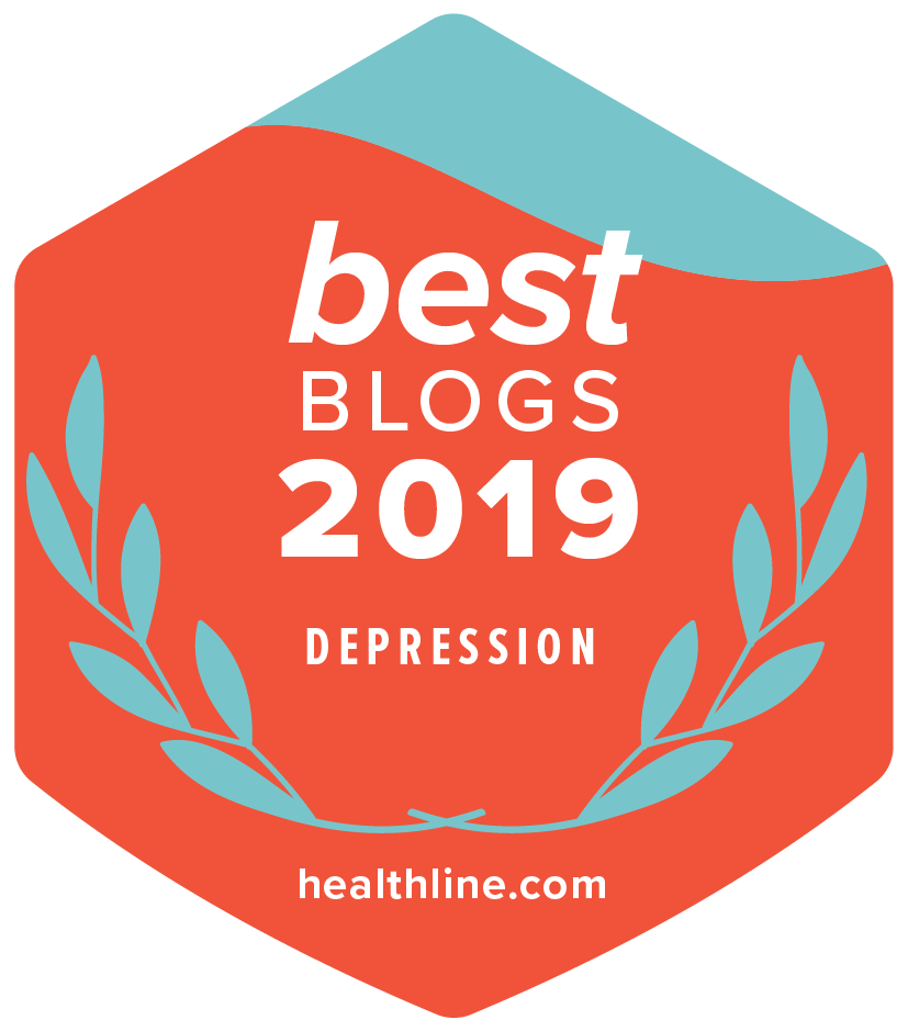 depression best blogs badge 2019