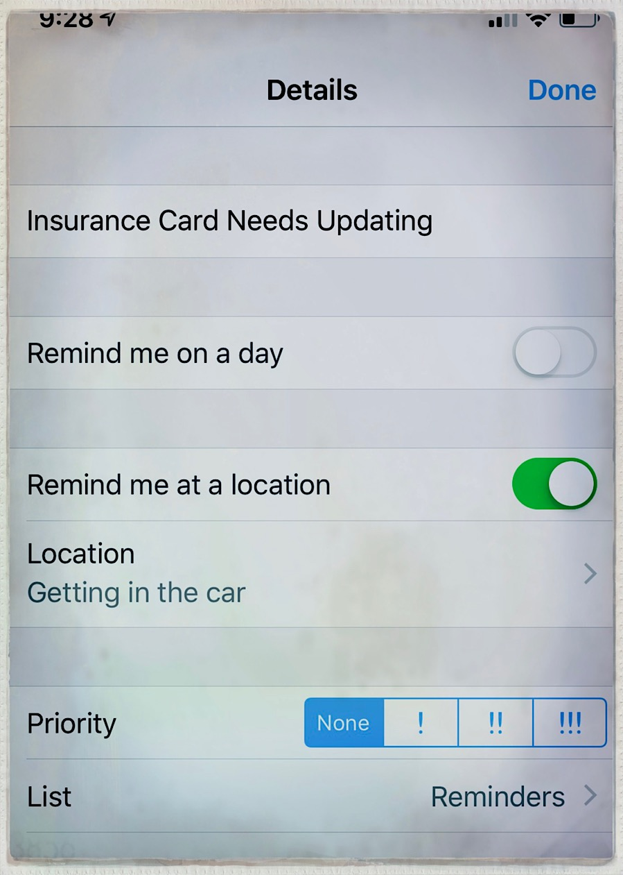 Location Aware Reminders Are Very Configurable!